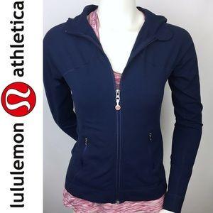 Lululemon | Navy Blue Zip-up Jacket Hoodie 8